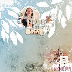 """Destination Unknown, Using Lynn Grieveson Designs """"I Wander"""" kit at The Lilypad Here Goes, Photo Book, Scrapbook Paper, Digital Scrapbooking, Wander, My Design, Kit, Creative, Projects"""