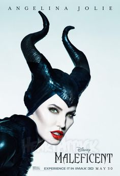 Here I drew the villain from the fairy tale Sleeping Beauty. Angelina Jolie plays 'Maleficent' in the (same named) movie from disney. If you haven't see. Angelina Jolie as Maleficent (Disney) Maleficent 2014, Angelina Jolie Maleficent, Maleficent Movie, Malificent, Maleficent Quotes, Disney Films, Disney Villains, Fantasy Movies, Movie Posters