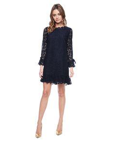 Juicy Couture   Regal Cotton Ornate Lace Dress, 4
