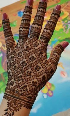 Indian Henna Designs, Back Hand Mehndi Designs, Beginner Henna Designs, Latest Bridal Mehndi Designs, Full Hand Mehndi Designs, Mehndi Designs 2018, Henna Art Designs, Mehndi Designs For Girls, Mehndi Design Photos