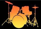 drum set silhouette