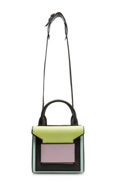Color-Block Leather Satchel by Pierre Hardy - Moda Operandi