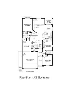 Pulte Home Gateway Model 1776 Sq Ft Also Option For Garage Storage AreaGarage StoragePulte HomesFloor Plans