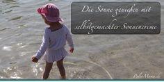 Paleo Sonnenschutz für Mama und Kind: Selbstgemachte Sonnencreme aus natürlichen Ölen