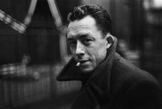 Albert Camus ~by Henri Cartier Bresson