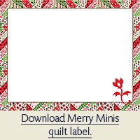 Quilt Labels - Quilt With Us, Printable labels