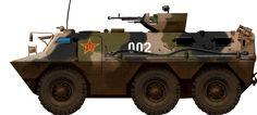 Chinese PLA Type90 APC (1988)