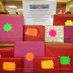 Mystery Reads for Summer Stars in Balbriggan Library Mystery, Gift Wrapping, Stars, Reading, Summer, Gifts, Gift Wrapping Paper, Summer Time, Presents