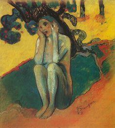 Paul Gauguin, Eve, 1889