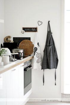"cooking corner in our ""work in progress"" kitchen ~"
