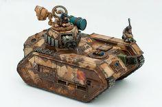 Warhammer 40k | Astra Militarum | Hellhound Tank #warhammer #40k #40000 #wh40k #wh40000 #warhammer40k #gw #gamesworkshop #wellofeternity #miniatures #wargaming #hobby #tabletop #pyrkon2016