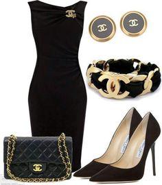 Chanel ~ little black dress
