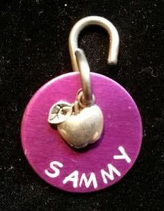 Pet ID Tag - Dog Tag - Personalized Dog/Pet Tag - Custom ID Tag - Pet Accessories on Etsy, $7.50