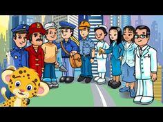 Adivinanzas para niños de los oficios y las profesiones - YouTube