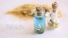 Miniatuur polymer beach