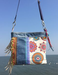 Stunning asymmetric Ibiza bag!