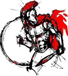 ... Tattoo Spartan Fans Spartan Art Warriors Spartan Warriors Creed