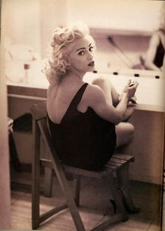 Madonna photographed by Steven Meisel in 1991