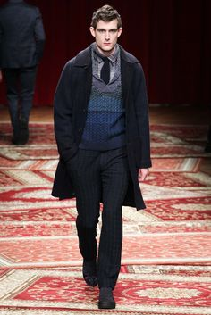 Missoni Fall 2015 Menswear Fashion Show