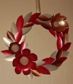 Shampoo Bottle Wreath
