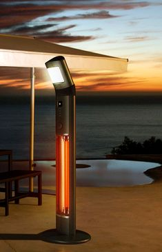 The UK based Chillchaser makes innovative and ecologically friendly patio heaters. Available in three models – Neptune, Zeus and the latest Poseidon with a built Read Outside Heaters, Outdoor Heaters, Patio Heater, Outdoor Living Areas, Living Spaces, Patio Lighting, Outdoor Fire, Garden Accessories, Heating Systems