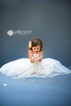 San Antonio Children Photography- Glitter Session {Isabella Turns 3!} YelloNest Photography
