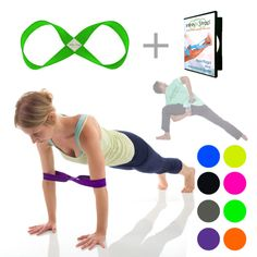 1 Infinity Strap STRETCH + 1 Instructional DVD of your choiceThe Infinity Strap STRETCH (patent pending) helps with strength and flexibility, and is designed to stretch with high resistance to a certain point and then stop, much like the human body. The design of the Infinity Strap STRETCH is a dual loop with a subtle twist at the center, forming a shape of an endless figure 8, which is illustrated by the timeless symbol of infinity.• Totally unique, hybrid high resistance material•…