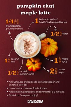 Pumpkin Chai latte season is here! We've got you covered with this DIY.