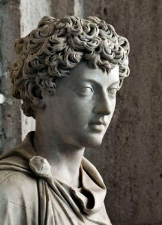 adonis-seralis-nors:  Bust of young Marcus Aurelius (II century a.D.)