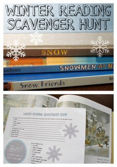 Encourage reading variety with a free winter reading scavenger hunt printable. Library Activities, Reading Activities, Teaching Reading, Interactive Activities, Library Lessons, Library Ideas, Library Scavenger Hunts, I Carry Your Heart, 5th Grade Reading