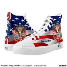 Disabled VeteranNEW custom High Top ZIPZ® shoes The small z is a zipper not meant for Zazzle Disabled Veterans, Custom Sneakers, On Shoes, Converse Chuck Taylor, High Tops, High Top Sneakers, Athletic Shoes, Product Description, Pairs
