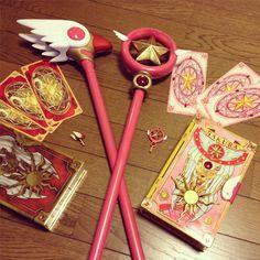 yumixx18:  カードキャプターさくらの杖をつくりました