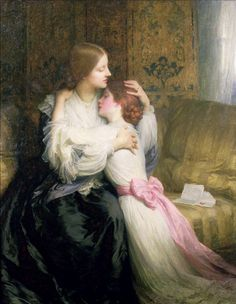 """""""The Mother"""", Sir Frank Dicksee, 1907"""