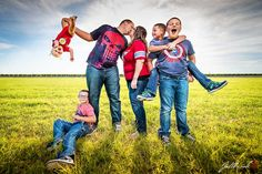 The Gray Family gets family pictures done by Fallbrook Photography with a superhero theme to them.