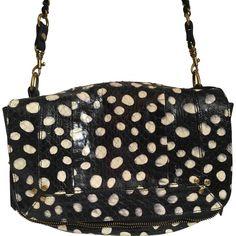 JEROME DREYFUSS Bobi python clutch bag