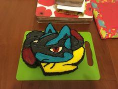 Mega Lucario cake