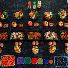 Meal prep Sunday. What do you going on? This is an example of what you would do in my 21 day fix challenge group.  You only have a couple of days left to sign up for my November group. Who wants to get fit and healthy for just $4.66 a day?  What's stopping you? Leave a comment below or email me at nwoolsey@hotmail.com #mealplan #makeachange #mealprep #mealprepping #mealprepsunday #change #challengegroup #joinme #commit #justdoit #believe by nicole.woolsey.fit