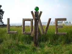 Treibholz-Outdoor-Skulptur HEARTWORKER ~ driftwood outdoor sculpture