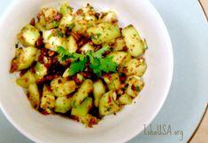 Cucumber and Peanut Salad - favorite salad from iii!