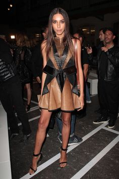 The transgender model was discovered by Givenchy senior designer Riccardo Tisci and became the face of Givenchy in late 2010.    - ELLE.com