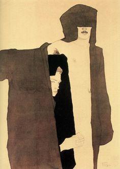 The Couple- Egon Schiele