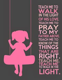 This silhouette was used as a template for the painting Chris did in Eleanor's room. Love the saying too!