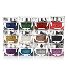 Best Cat Eye Makeup | Alonea 12 Color Cat Eye Nail Powder Temperature Gradient Light Glue Nail Glue Random Color -- Details can be found by clicking on the image. Note:It is Affiliate Link to Amazon. #followme