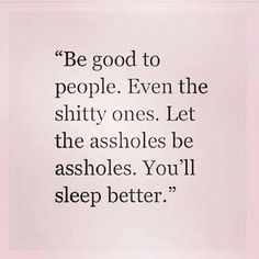 Need to adopt this motto