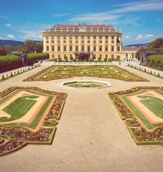 Schonbrunn Palace, Wien, Austria. Шёнбрунн, Вена, Австрия.