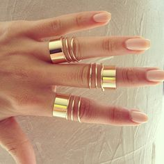 I have always been a lover of rings.  These have been so hard to find. #accessories #rings #fashion