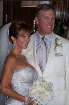 John Elway and Paige Green Wedding 2009