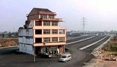 china nail house