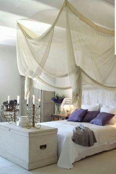 Himmel für Schlafzimmerbett