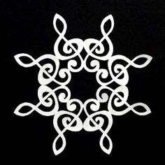 Love this! Looks kind of Celtic, too!